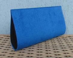 Clutch Pel�cia Azul