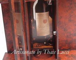 Caixa Porta Vinho - 2 Ta�as