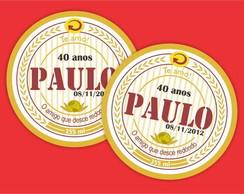 Adesivo Cerveja Personalizado