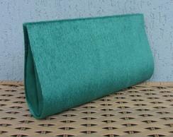 Clutch Pel�cia Verde