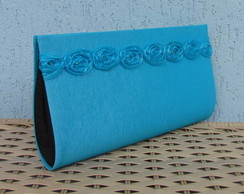 Clutch Azul Intenso