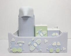 Kit Higiene Meios De Transporte 4 Pe�as