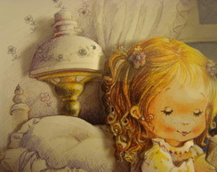 quadro em arte francesa para beb�