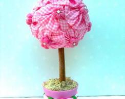 �rvore de Fuxico Rosa