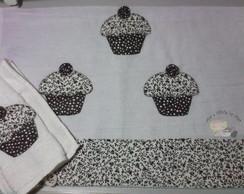 Kit Cozinha Cupcakes