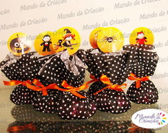 Trouxinha de Chocolate Halloween