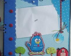 Livro de assinatura - galinha pintadinha
