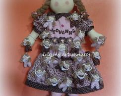 Kit maternidade com boneca Porta-fraldas