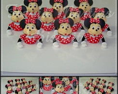 APLIQUE MINNIE , MICKEY EM BISCUIT