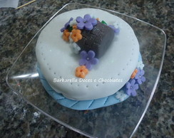 Mini-bolos Decorados - Encomenda Claudia