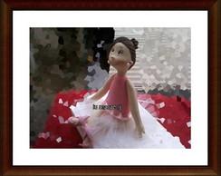 topo de bolo bailarina