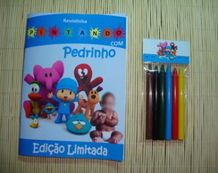 Revista Colorir Pocoyo