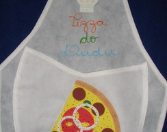 Avental em TNT Infantil modelo pizza