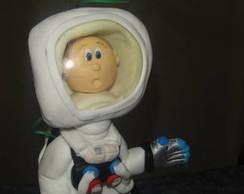 Topo de bolo Chegada do homem a Lua