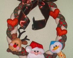 Guirlanda de Natal Tran�a