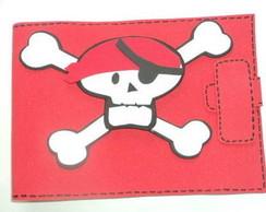 Caderno de desenho de pirata