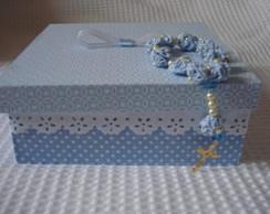 caixa para lembran�a de batizado