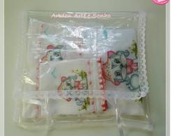 Kit fraldas para beb�  enxoval