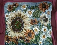 Almofada Flores - Decora��o (ALMO05)