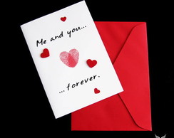 Cart�o Me And You Forever