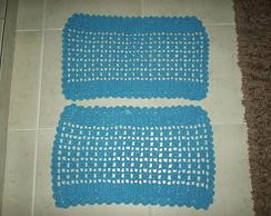 Tapetes Croch� Quadrado Varias Cores