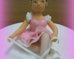 Topo de bolo - Bailarina