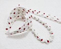 colar customizado e tiara faixa