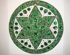 Mandala Quartzo Verde