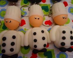 Chaveiro Mini Chefs