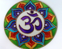 Mandala OM 7 Chamas