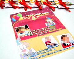 Convite - Convit�o especial circo
