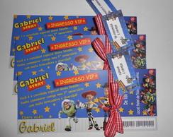 Convite Toy Store