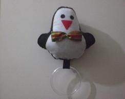 Porta pano de prato de Natal Pinguim