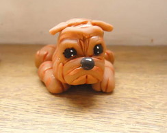 Sharpei de Biscuit
