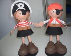 Pirata, fofucha eva