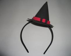 """Tiara chap�u da Bruxa """"Halloween"""""""