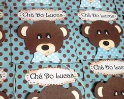 Convite ch� Urso de Gravatinha