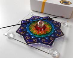 Incens�rio Mandala Arco-�ris 2