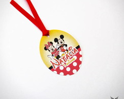 Tag Simples Mickey & Minnie