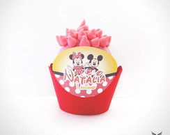 Forminha De Cupcake Mickey & Minnie