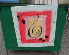 Tela nota musical