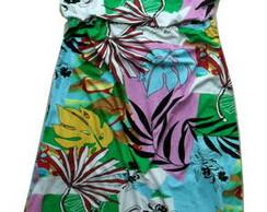 Vestido Longo Estampa ou Cores Variadas