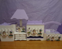 Kit de higiene Lilas com 7 Pe�as