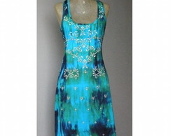 Vestido Regata Nadadora Tie-dye