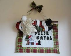 Pan� de Natal Papai Noel descansando