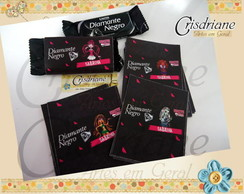 Rotulos Diamante Negro  Monster High