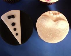 Cupcakes noivos