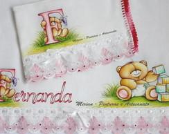 """Kit de Fraldas com Nome - """"Fernanda"""""""