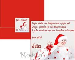 Cart�o De Natal Fam�lia