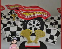 ENFEITE DE MESA HOT WHEELS